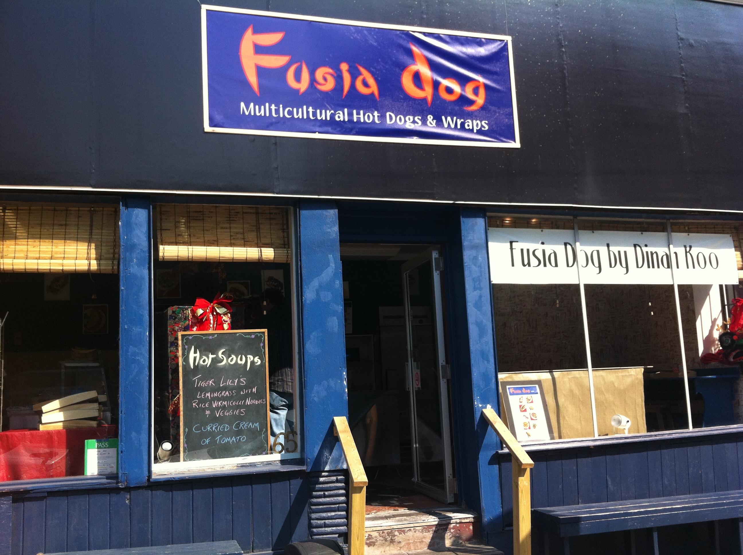 Fusia Asian Kitchen Menu