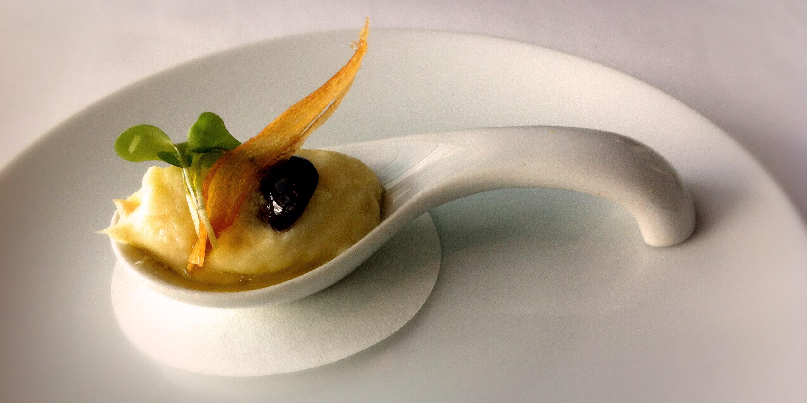 Fine dining judskii for Amuse bouche cuisine